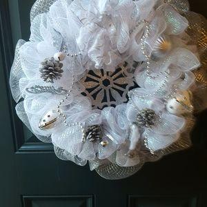 Other - Snow White Christmas Wreath